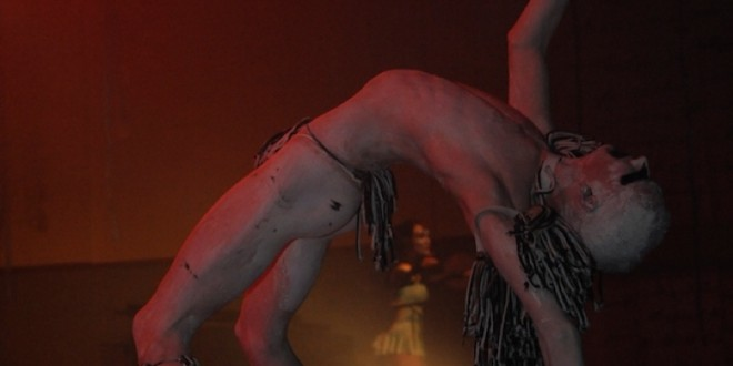 """""""Twisted"""" from Zen Zen Zo Physical Theatre """"The Tempest"""". © S. Woods 2009"""